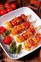 Купить «Marinated kebab skewers with meat and vegetables», фото № 34228499, снято 15 июля 2020 г. (c) easy Fotostock / Фотобанк Лори