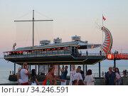 Купить «Вечерняя набережная. Ялта», фото № 34246591, снято 4 июля 2020 г. (c) Марина Володько / Фотобанк Лори