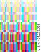 Colorful Abstract Geometric Graphic Illustration Background Design. Стоковое фото, фотограф Zoonar.com/Igor Zakowski / easy Fotostock / Фотобанк Лори