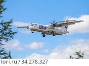 UTair ATR-72. Редакционное фото, фотограф Art Konovalov / Фотобанк Лори