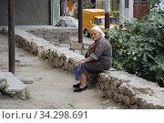 Street life in Stepanakert, Nagorno Karabakh republic. Photo: André Maslennikov (2006 год). Редакционное фото, фотограф Andre Maslennikov / age Fotostock / Фотобанк Лори
