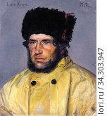 Ancher Michael Peter - Rescue Chairman Lars Kruse - Danish School - 19th and Early 20th Century. Редакционное фото, фотограф Artepics / age Fotostock / Фотобанк Лори