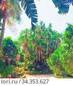 Купить «Watercolour Art Print, Travel in Europe Scene as Vintage Home Decor», фото № 34353627, снято 4 августа 2020 г. (c) easy Fotostock / Фотобанк Лори