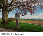 Bei Wolfegg liegt im Landkreis Ravensburg auf einem Hügel die Loreto... Стоковое фото, фотограф Zoonar.com/Tarabalu / age Fotostock / Фотобанк Лори