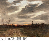 Baum Paul - Abendstimmung Nach Dem Regen Am Weg Nach Niedergrunstedt... Редакционное фото, фотограф Artepics / age Fotostock / Фотобанк Лори