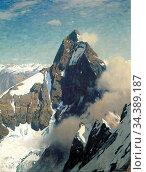 Bracht Eugen Felix Prosper - Das Matterhorn Von Westen - German School... Редакционное фото, фотограф Artepics / age Fotostock / Фотобанк Лори