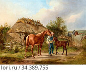 Adam Albrecht - Baron Biel at Gut Zierow Estate in Holstein - German... Редакционное фото, фотограф Artepics / age Fotostock / Фотобанк Лори