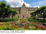 Local Court, Oberhausen, Ruhr Area, North Rhine-Westphalia, Germany. Редакционное фото, агентство Caro Photoagency / Фотобанк Лори
