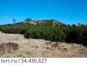 Riesengebirge, die Reifträgerbaude, Polen. Стоковое фото, фотограф Zoonar.com/Gabriele Sitnik-Schmach / easy Fotostock / Фотобанк Лори