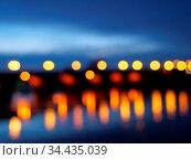 Lichter auf der Brücke. Стоковое фото, фотограф Zoonar.com/Stephan S / easy Fotostock / Фотобанк Лори