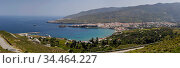 View of the town of Chora on Andros (Greece, Cyclades) (2019 год). Стоковое фото, фотограф Татьяна Ляпи / Фотобанк Лори