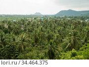The Landscape near the Town of Pranburi on the Golf of Thailand south... Стоковое фото, фотограф Zoonar.com/URS FLUEELER / age Fotostock / Фотобанк Лори