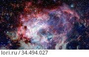 Star birth in the extreme. Elements of this image furnished by NASA. Стоковое фото, фотограф Zoonar.com/Irina Dmitrienko / easy Fotostock / Фотобанк Лори