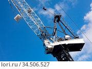 A crane operator at work in Sydney CBD, Australia. Стоковое фото, фотограф Zoonar.com/Chris Putnam / easy Fotostock / Фотобанк Лори
