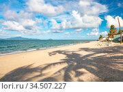 The popular area of An Bang beach near Hoi An in Vietnam. Стоковое фото, фотограф Zoonar.com/Chris Putnam / easy Fotostock / Фотобанк Лори