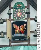 Glockenspiel, Braunlage, harz, uhr, spieluhr, fachwerk, tradition... Стоковое фото, фотограф Zoonar.com/Volker Rauch / age Fotostock / Фотобанк Лори