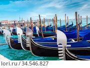 Beautiful water street - Grand Canal in Venice, Italy. Стоковое фото, фотограф Zoonar.com/Figurniy Sergey / age Fotostock / Фотобанк Лори