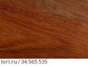 Dark wooden background, natural wood plank backdrop. Стоковое фото, фотограф Яков Филимонов / Фотобанк Лори