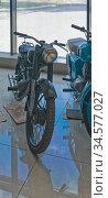 """Мотоцикл """"ММ3 М-1М"""". Музей мотоциклов. Редакционное фото, фотограф Макаров Алексей / Фотобанк Лори"""