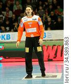 Handball-Torwart Jannick Green Krejberg SC Magdeburg Liqui Moly HBL... Стоковое фото, фотограф Zoonar.com/Axel Kammerer / age Fotostock / Фотобанк Лори