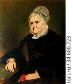 Barrett Jerry - Ann Fell Mrs William Miller Christy in Quaker Dress... Стоковое фото, фотограф Artepics / age Fotostock / Фотобанк Лори