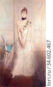 Boldini Giovanni - a Portrait of Emiliana Concha De Ossa - British... Стоковое фото, фотограф Artepics / age Fotostock / Фотобанк Лори