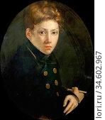Bonington Richard Parkes - Self Portrait - British School - 19th ... Стоковое фото, фотограф Artepics / age Fotostock / Фотобанк Лори