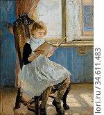 Uhde Fritz Von - Picture Book - German School - 19th Century. Редакционное фото, фотограф Artepics / age Fotostock / Фотобанк Лори