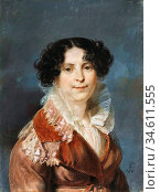 Vogel Von Vogelstein Carl Christian - Portrait of a Lady - German... Редакционное фото, фотограф Artepics / age Fotostock / Фотобанк Лори