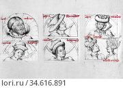 Rodrigo Diaz de Vivar lineage at Genealogy of the Kings of Spain ... Стоковое фото, фотограф Juan García Aunión / age Fotostock / Фотобанк Лори