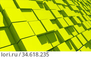 Abstract image of cubes background. Realistic Block floor with professional... Стоковое фото, фотограф Zoonar.com/Roman Budnikov / easy Fotostock / Фотобанк Лори