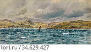 Brett John - Loch Beag Skye - British School - 19th Century. Стоковое фото, фотограф Artepics / age Fotostock / Фотобанк Лори