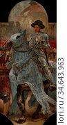 Cormon Fernand - Décors Du Petit Palais 10 - La Fin De La Guerre ... Стоковое фото, фотограф Artepics / age Fotostock / Фотобанк Лори