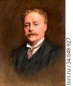 Fildes Sir Samuel Luke - Henry Woods - British School - 19th Century. Стоковое фото, фотограф Artepics / age Fotostock / Фотобанк Лори