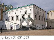 Московский Кремль. Грановитая палата (2020 год). Редакционное фото, фотограф Илюхина Наталья / Фотобанк Лори