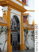 Eingangsportal, Andalusien. Стоковое фото, фотограф Zoonar.com/Gabriele Sitnik-Schmach / easy Fotostock / Фотобанк Лори