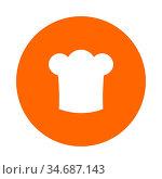 Kochhaube und Kreis - Chef hat and circle. Стоковое фото, фотограф Zoonar.com/Robert Biedermann / easy Fotostock / Фотобанк Лори