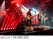 Die Schweizer Mundartband Halunke live in der Schüür Luzern, Schweiz... Стоковое фото, фотограф Zoonar.com/Oliver Gutfleisch / age Fotostock / Фотобанк Лори