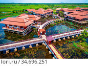 Thale noi waterflow and bird reserve research center, Thailand. Стоковое фото, фотограф Zoonar.com/Ana Fla?ker / age Fotostock / Фотобанк Лори