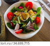 Low calorie vegetable salad. Стоковое фото, фотограф Яков Филимонов / Фотобанк Лори