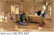 Lewis John Frederick - Arab School - British School - 19th Century. Редакционное фото, фотограф Artepics / age Fotostock / Фотобанк Лори