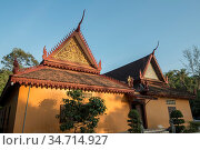 The Wat An kau sey Temple in the city of Siem Reap in northwest of... Стоковое фото, фотограф Zoonar.com/URS FLUEELER / age Fotostock / Фотобанк Лори