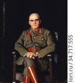 Mann Harrington - Portrait of Lieutenant General Sir Sam Hughes - ... Редакционное фото, фотограф Artepics / age Fotostock / Фотобанк Лори