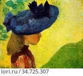 Maillol Aristide - Mademoiselle Faraill Au Chapeau - French School... Стоковое фото, фотограф Artepics / age Fotostock / Фотобанк Лори
