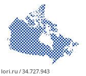 Karte von Kanada in Schachbrettmuster - Map of Canada in checkerboard... Стоковое фото, фотограф Zoonar.com/lantapix / easy Fotostock / Фотобанк Лори