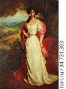 Roberts Ellis William - Enid Countess of Chesterfield - British School... Редакционное фото, фотограф Artepics / age Fotostock / Фотобанк Лори