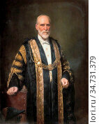 Roberts Ellis William - George Bennion - British School - 19th Century... Редакционное фото, фотограф Artepics / age Fotostock / Фотобанк Лори