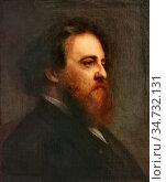 Ricard Louis Gustave - Portrait D'alfred Sensier - French School - ... Стоковое фото, фотограф Artepics / age Fotostock / Фотобанк Лори