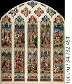 Rossetti Dante Gabriel - Design for Old Testament Window - British... Редакционное фото, фотограф Artepics / age Fotostock / Фотобанк Лори
