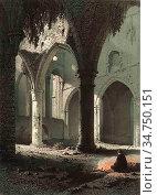 Stroobant Francois - Ruines De L'abbaye De Villers - Belgian School... Стоковое фото, фотограф Artepics / age Fotostock / Фотобанк Лори